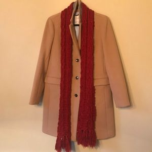 Accessories - Gap red knitted scarf!